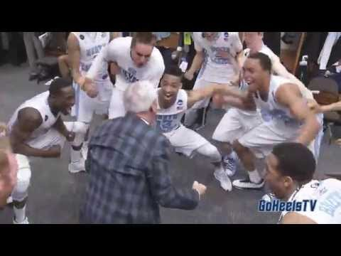 Video: UNC Post-Arkansas Locker Room Celebration