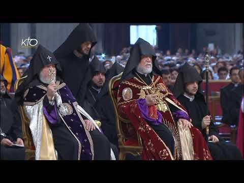 Messe pour les fidèles de rite arménien