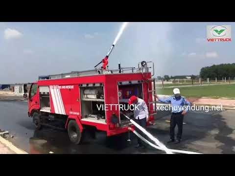 Xe chữa cháy hino 3 khối (3m3) 2800l nước 300l bọt