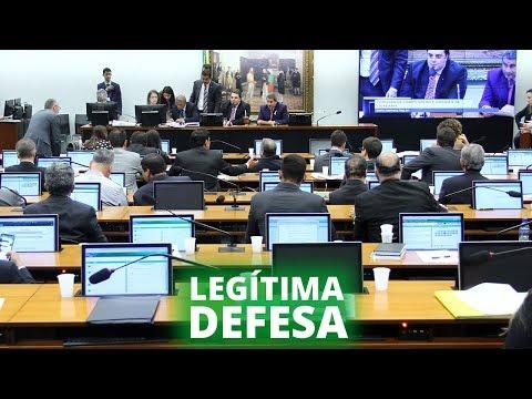 CCJ aprova PEC que inclui direito à legítima defesa na Constituição - 18/09/19