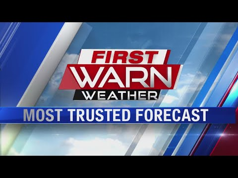 5pm First Warn Forecast