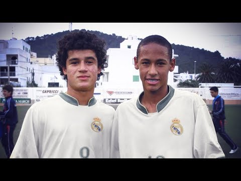 The team Neymar & Coutinho supported when they were kids | Oh My Goal