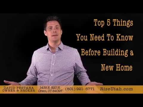 Top 5 Things You Need to Know When Building a Home