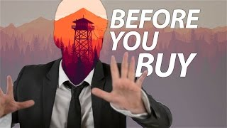 Firewatch - Before You Buy
