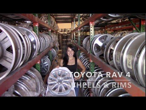 Factory Original Toyota Rav 4 Rims & OEM Toyota Rav 4 Wheels – OriginalWheel.com