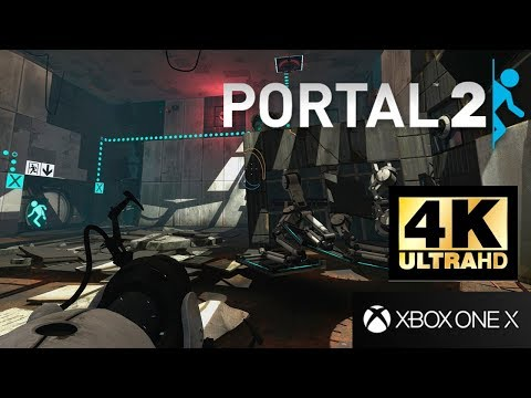 Gameplay sur Xbox One X de Portal 2