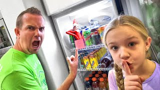Elf on the Shelf Pranks Our Dad for 24 Hours!!!
