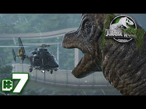 Dinosaurs.. Are...DYING!!! | Dinosaur Preserve - Part 7 | Jurassic World Evolution