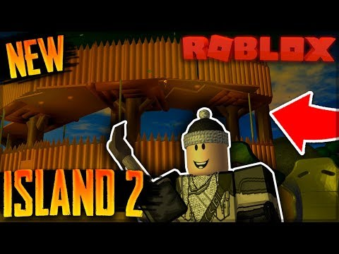 NEW SURVIVAL GAME ON ROBLOX (THE FOREST) | Roblox: Island 2