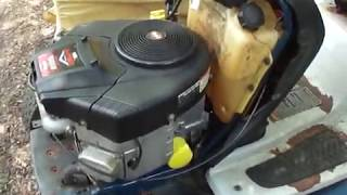 Briggs and Stratton 656cc (18hp) V twin Intek engine, excellent condition.