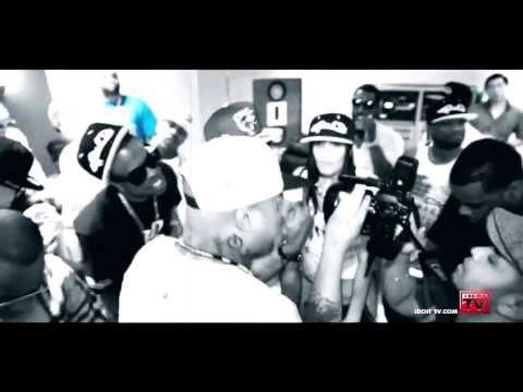DJ PAUL DRUMMA BOY ft. MAXPAYNE SHAWTY DJ LAZY K IN STUDIO JUST BE CUZ