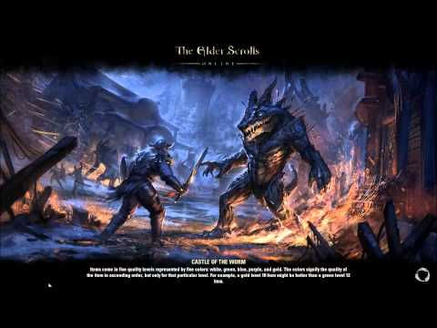 Another day another never-ending zone loading screen — Elder Scrolls