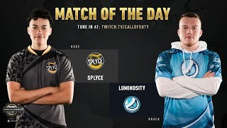 Splyce vs Luminosity | CWL Pro League 2019 | Cross-Division | Week 11 | Day 4