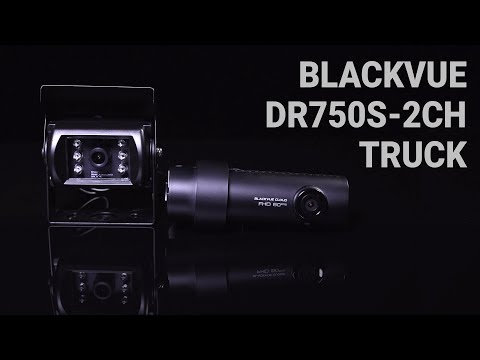 BlackVue DR750S-2CH TRUCK Promo Video