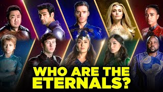 Who are Marvel's ETERNALS? MCU Eternals Explained!