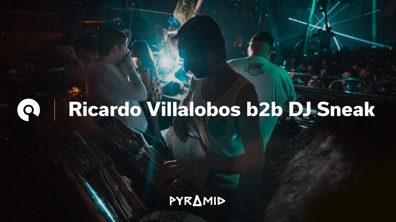 Dj Sneak b2b Ricardo Villalobos - Live @ Pyramid Opening Party 2018
