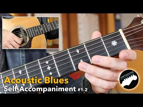 Solo Blues Guitar Lesson for Beginners - Routines 1-2