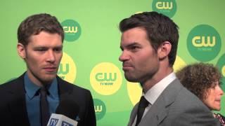 Элайджа и Клаус из Дневников вампира, Joseph Morgan and Daniel Gillies - The Originals - CW Upfronts