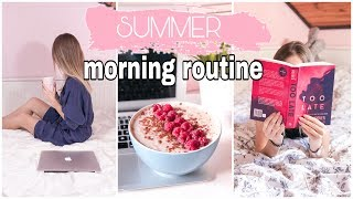 MY SUMMER MORNING ROUTINE ☀️