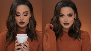 Warm Caramel Mocha Fall Makeup Tutorial