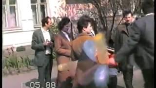 УРСР , ЛУЦЬК , 1 ТРАВНЯ 1988 РОКУ , ЛУЦК 1 МАЯ 1988 ГОДА ПАРАД
