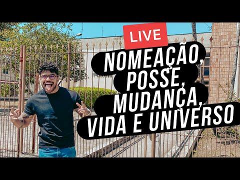 1 Semana Para O TJ-SP falando sobre nomeação, posse, mudança | Live Domingão Do Hugão