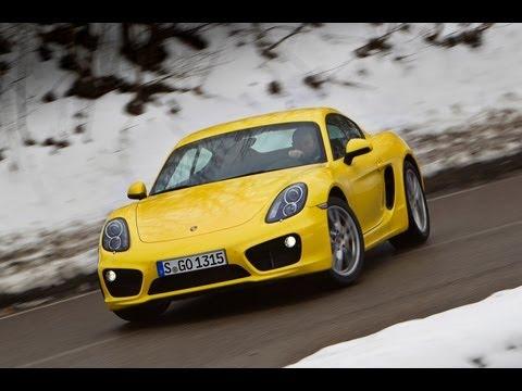 2013 Porsche Cayman review