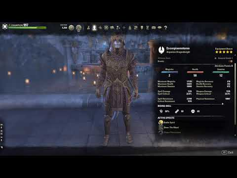 Eso Best Tank Class 2019 PVP TANK BUILD by Escorpião Noturno and tips — Elder Scrolls Online