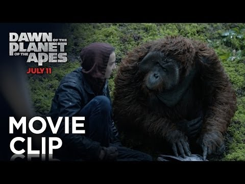 Dawn of the Planet of the Apes (Clip 'Hanging Out')