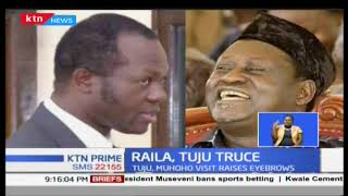 Could Jubilee secretary general Raphael Tuju be eyeing the Siaya governorship