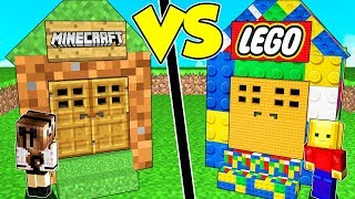 CASA DI LEGO contro CASA DI MINECRAFT!