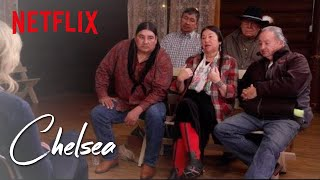 Chelsea Visits a Native American Tribe, by Chelsea