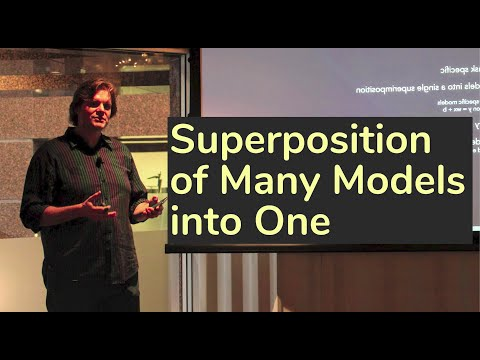 Superposition of many models into one