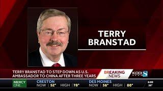 Former Iowa Gov. Terry Branstad to step down as U.S. Ambassador to China