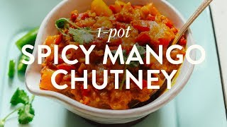 Spicy Mango Chutney | Minimalist Baker Recipes