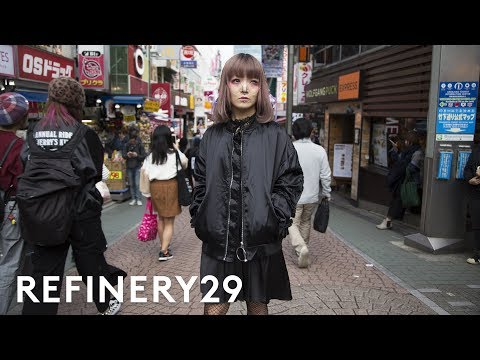 The Dark Side Of Harajuku Style You Haven't Seen Yet | Style Out There | Refinery29