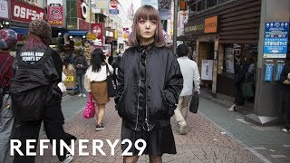 The Dark Side Of Harajuku Style You Havent Seen Yet | Style Out There | Refinery29