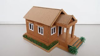 Simple Way To Build Dollhouse Out of Cardboard  2021