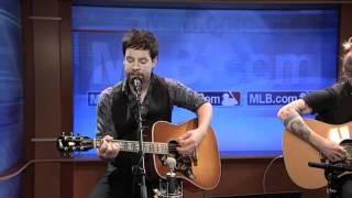 David Cook - Heroes, Live Acoustic at the MLB.com Studio