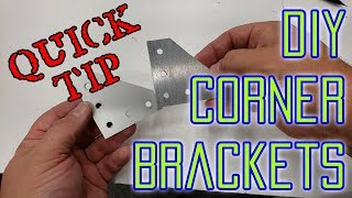 DIY Corner Brackets for 2020 Extrusion