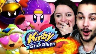 KIRBY STAR ALLIES CO-OP NINTENDO SWITCH FR | TEST ET DÉMO !