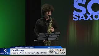 Enzo Herczog plays Étude 12 – Douze Études Caprices by Eugène BOZZA