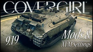 9.19 Recommended Mods & XVM Settings || World of Tanks