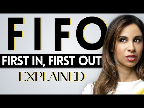 FIFO Inventory Accounting Method EXPLAINED   First In, First Out Inventory Cost Flow