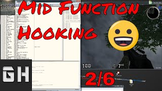 C++ Mid Function Hooking/Codecaving Tutorial Pt 2/6