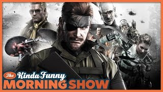 The Metal Gear Solid Movie is Getting Us Excited! - The Kinda Funny Morning Show 08.07.18