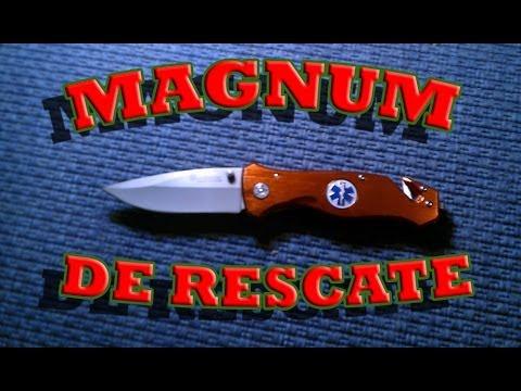 ABSsupervivencia: Navaja de rescate Magnum.