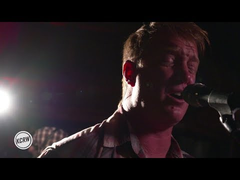 """Queens Of The Stone Age performing """"Domesticated Animals"""" Live on KCRW"""