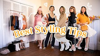 11 BEST STYLING TIPS every girl should know for fall and winter! 🍁