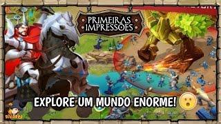 Art of Conquest  (NOVO JOGO RPG DE ESTRATÉGIA / Gameplay Android Br)